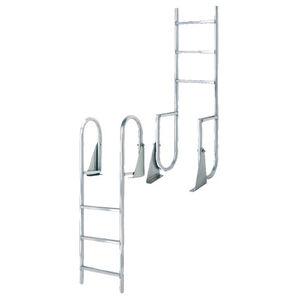 International Dock Wide-Step Flip-Up Dock Ladder, 7-Step