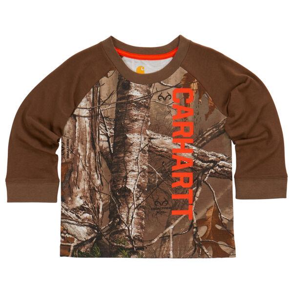 Carhartt Child's Camo Raglan Long-Sleeve T-Shirt