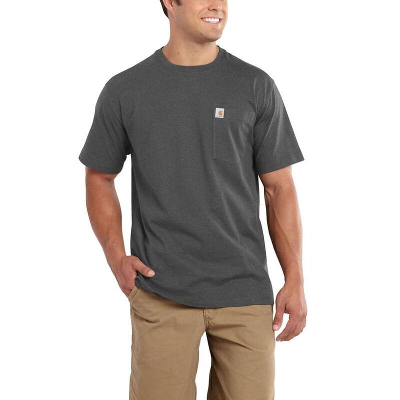 Carhartt Men's Maddock Pocket Short-Sleeved T-Shirt image number 2