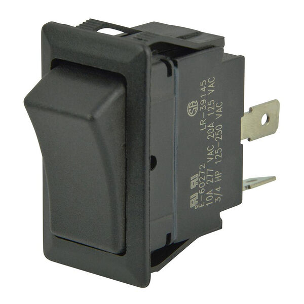 BEP SPST Rocker Switch, Off/On