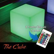 The Cube LED Illuminated Floating Cube