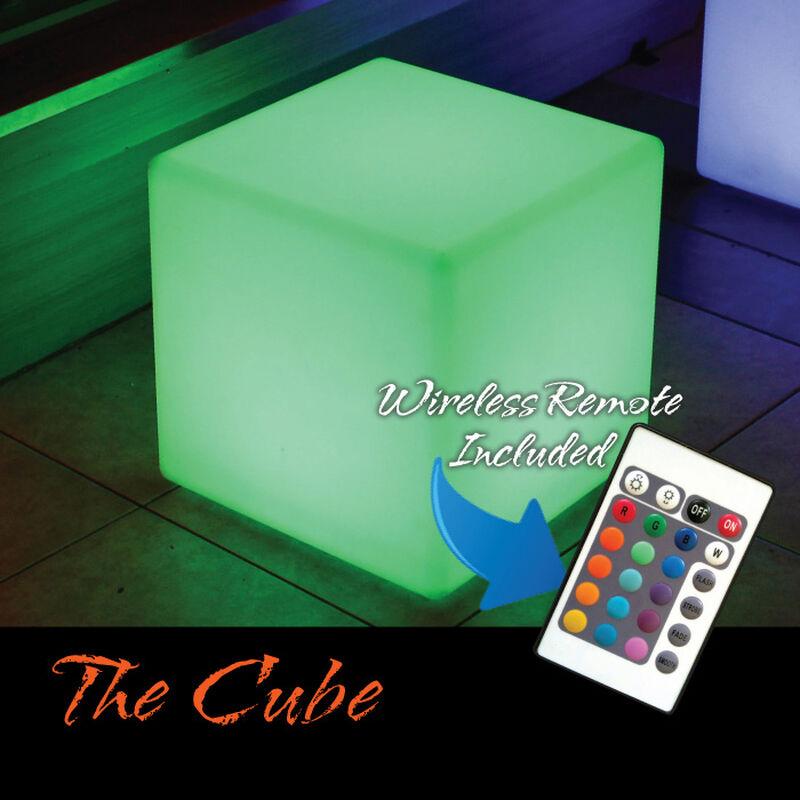 The Cube LED Illuminated Floating Cube image number 1