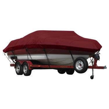 Exact Fit Covermate Sunbrella Boat Cover for Larson Escape 234  Escape 234 W/Bimini Stored Aft Covers Ext. Platform I/O
