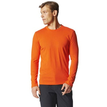 Adidas Men's Logo Long-Sleeve Tee