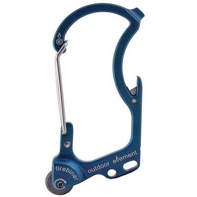 Outdoor Element Firebiner Carabiner, Blue River