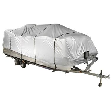 Covermate HD 600 Pontoon Boat Mooring And Storage Cover 17'-20'L 102'' Max Beam