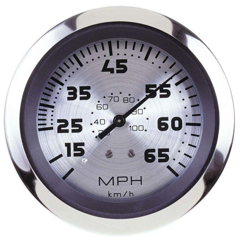 """Sierra Sterling 3"""" Speedometer, 65 MPH image number 1"""