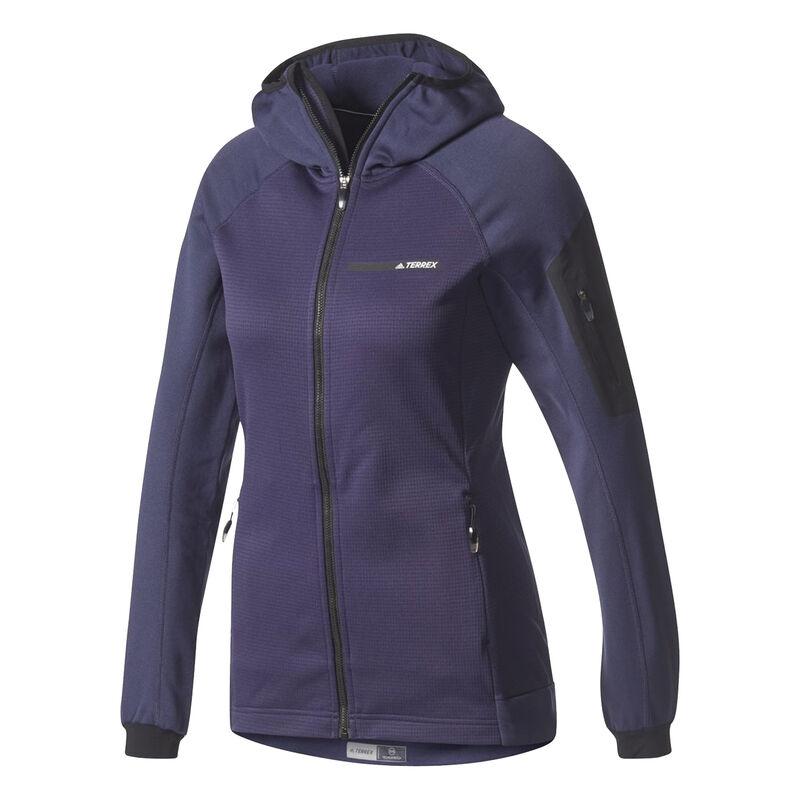 Adidas Women's Terrex Stockhorn Fleece Full-Zip Hoodie image number 2