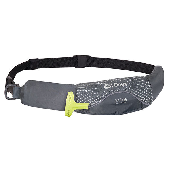 Overton's M-16 Manual Inflatable Belt Pack - Gray - OS