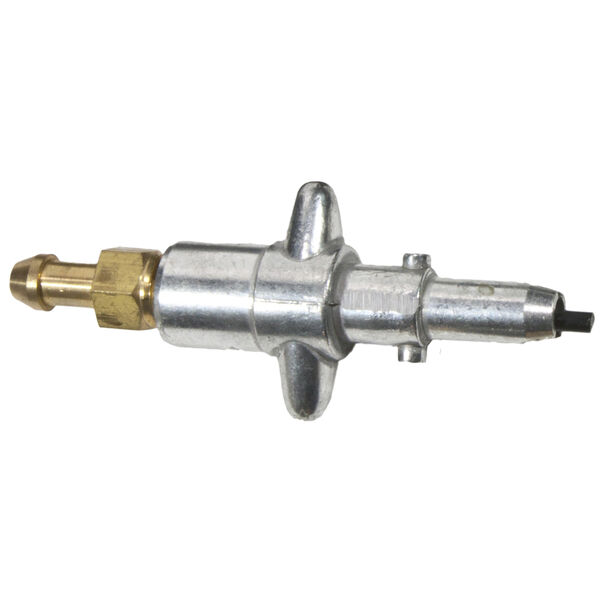 "Scepter Die Cast Male Tank Connector With 3/8"" Barb"