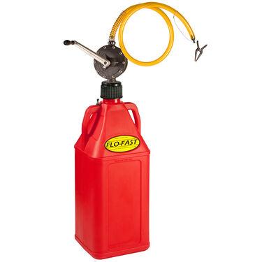 Flo-Fast 10.5-Gallon Fuel Jug with Professional Pump