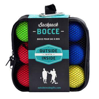Outside Inside Backpack Bocce Ball