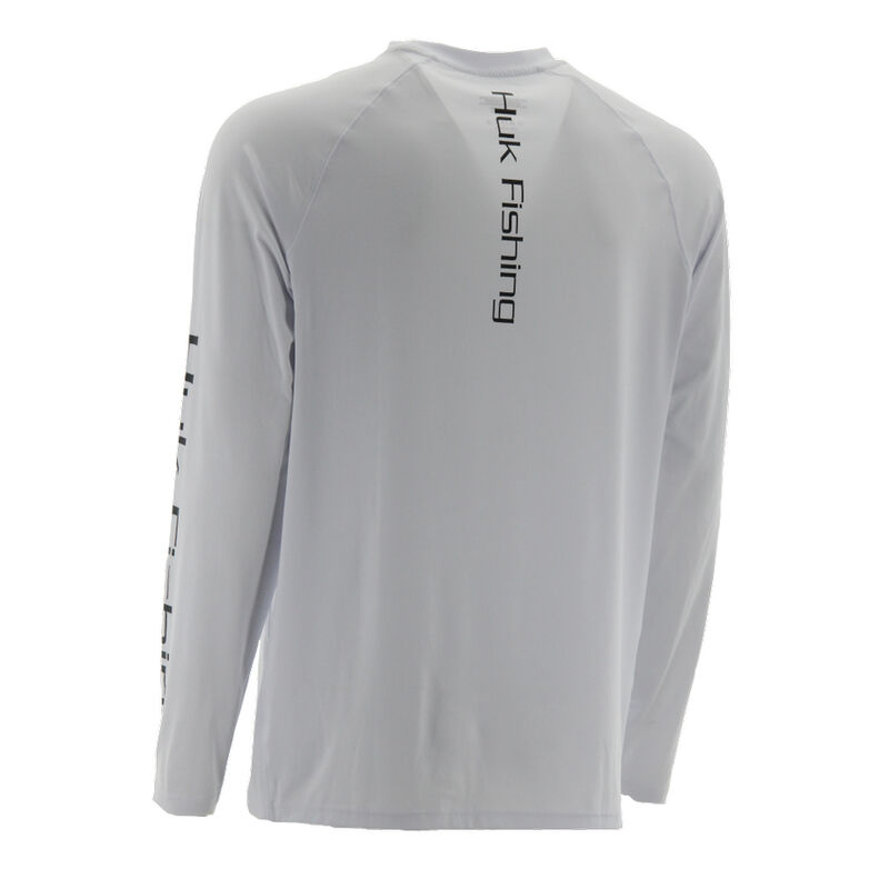 HUK Men's Pursuit Vented Long-Sleeve Tee image number 4