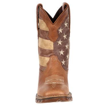 Durango Women's Lady Rebel Faded Union Flag Western Boot