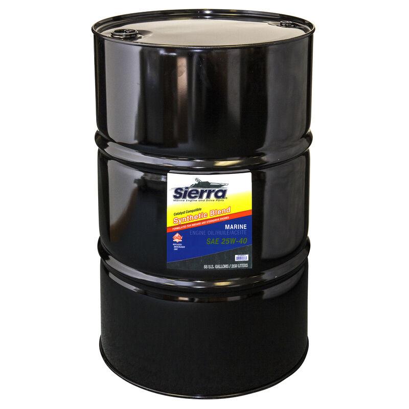 Sierra 25W-40 Oil For Mercruiser Engine, Sierra Part #18-9440-7P image number 1