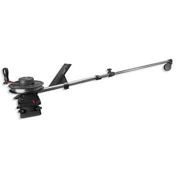 "Scotty 1091 Telescoping 60"" Longarm Combo Manual Downrigger With Swivel Base"