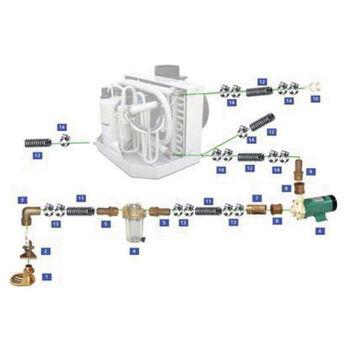 Webasto 115V Seawater Kit For 12,000 / 16,000 BTU Units