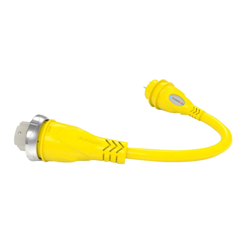 Furrion Pigtail Adapter 50A 125V Female to 30A Male image number 1