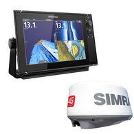 Simrad NSS12 evo3 Chartplotter/Fishfinder/Radar Bundle