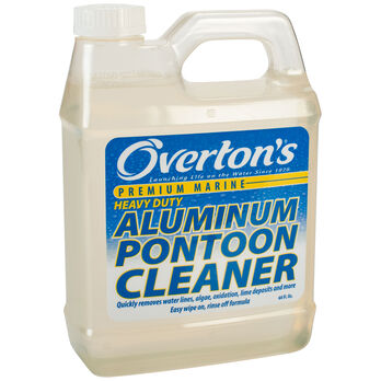 Overton's Heavy-Duty Aluminum Pontoon Cleaner, 32 oz.