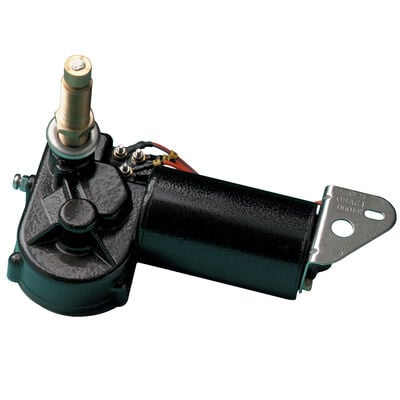 """Marinco MRV Windshield Wiper Motor with 2.5"""" Shaft and 80° Sweep"""