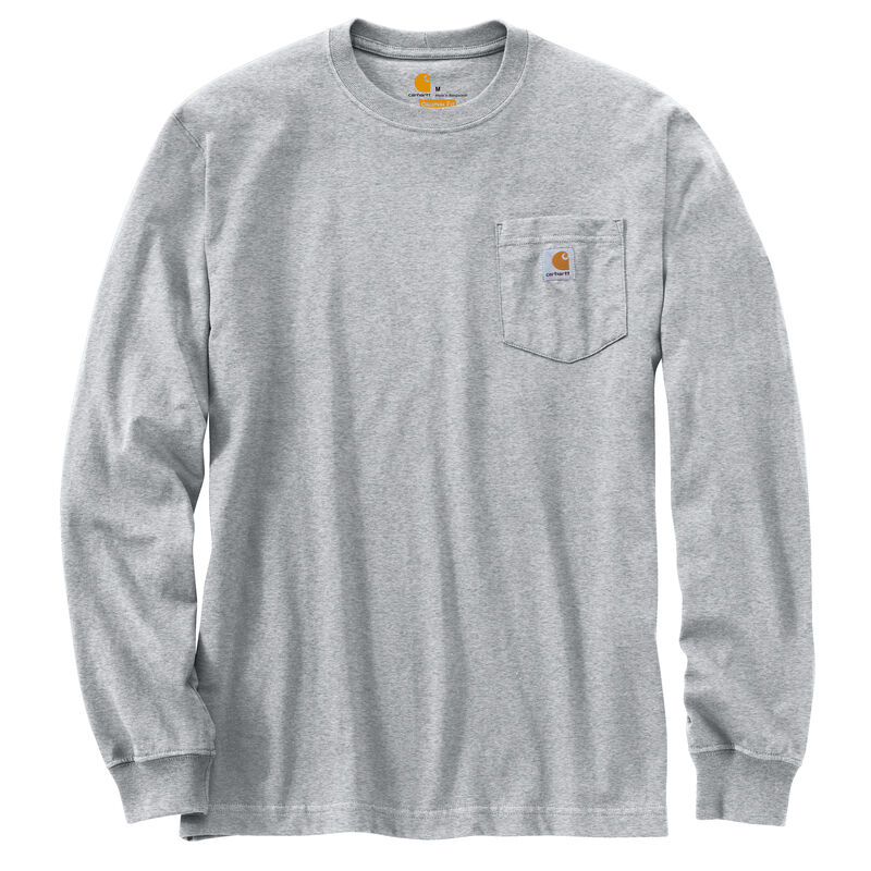 Carhartt Men's Workwear Long-Sleeve Pocket Tee image number 24