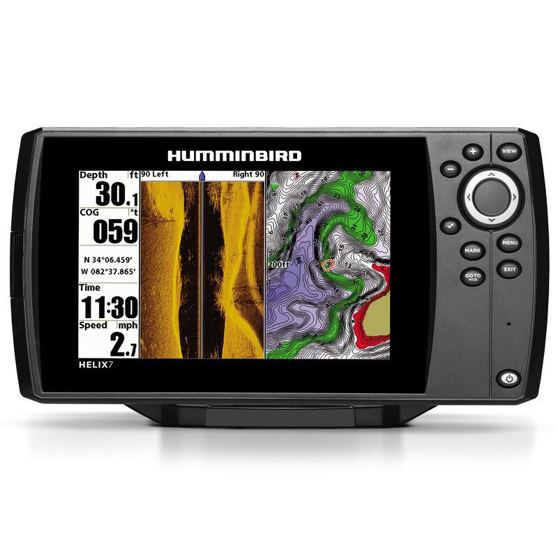 Humminbird Helix 7 SI Fishfinder GPS Combo image number 1