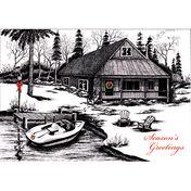 Lakeside Holiday Christmas Cards