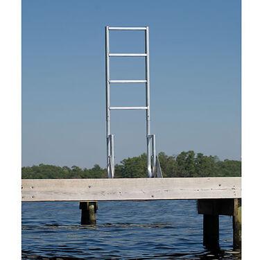 International Dock Wide-Step Flip-Up Dock Ladder, 3-Step