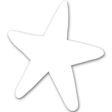 Starfish Vinyl Decal