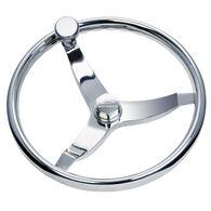 Schmitt Vision Elite Stainless Steel Steering Wheel With Knob
