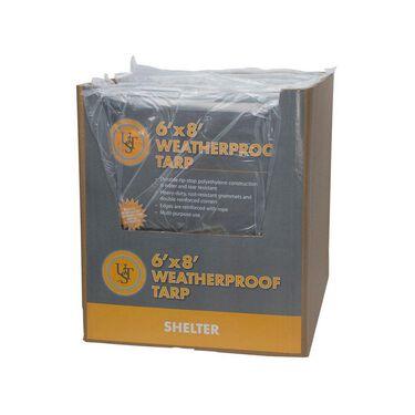 Ultimate Survival Technologies Weatherproof Tarp, 6' x 8'