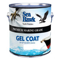 Sea Hawk Gel Coat With Wax Additive, Quart - Snow White