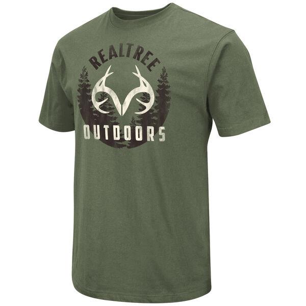 Realtree Men's Wilderness Logo Short-Sleeve Tee