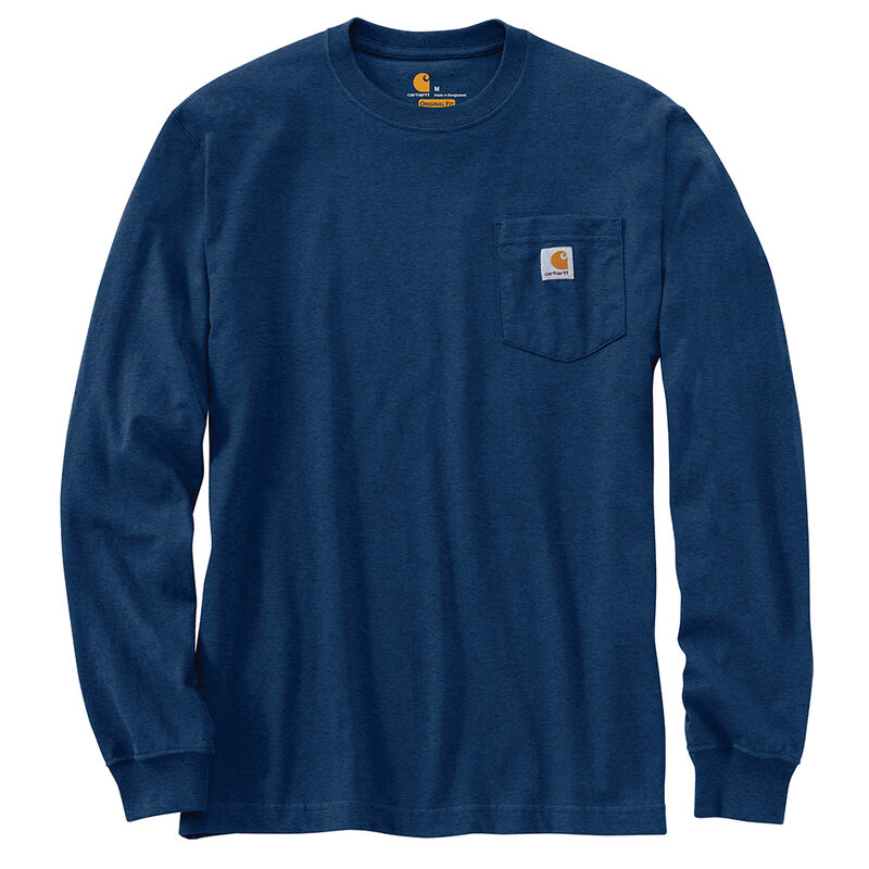 Carhartt Men's Workwear Long-Sleeve Pocket Tee image number 9