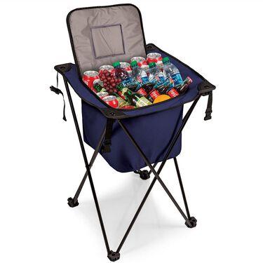 Sidekick Portable Standing Beverage Cooler, Navy