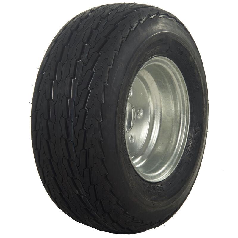 Tredit H188 4.80 x 8 Bias Trailer Tire, 5-Lug Standard Galvanized Rim image number 1