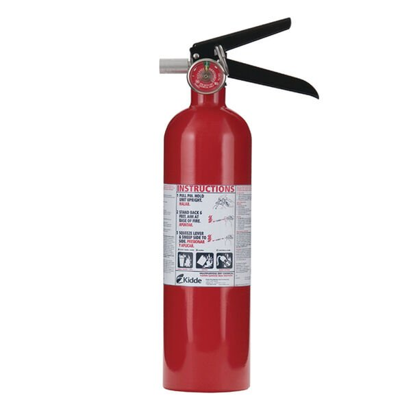 Kidde Mariner 1A 10BC Fire Extinguisher with Gauge