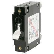 Blue Sea Circuit Breaker C-Series Toggle Switch, Single Pole, 60A, White