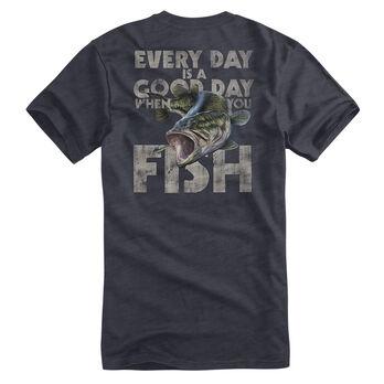 Fin Fighter Men's Good Day Short-Sleeve Tee