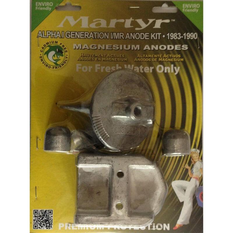 Martyr Mercury Anode Kit for Alpha I Generation I Engines, 1983-1990 - Magnesium image number 1