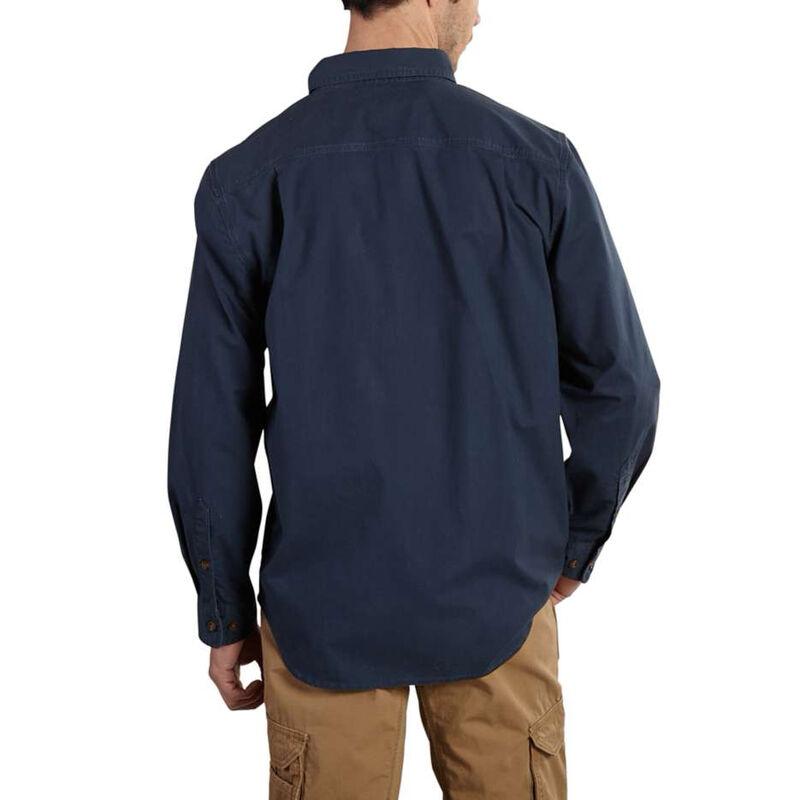 Carhartt Men's Foreman Solid Long-Sleeve Work Shirt image number 3