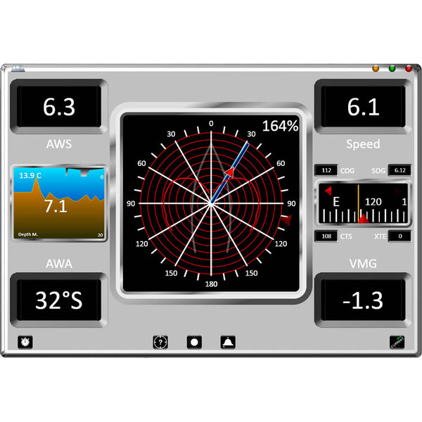 Fugawi Avia Sail Pro Onboard Instrument Software