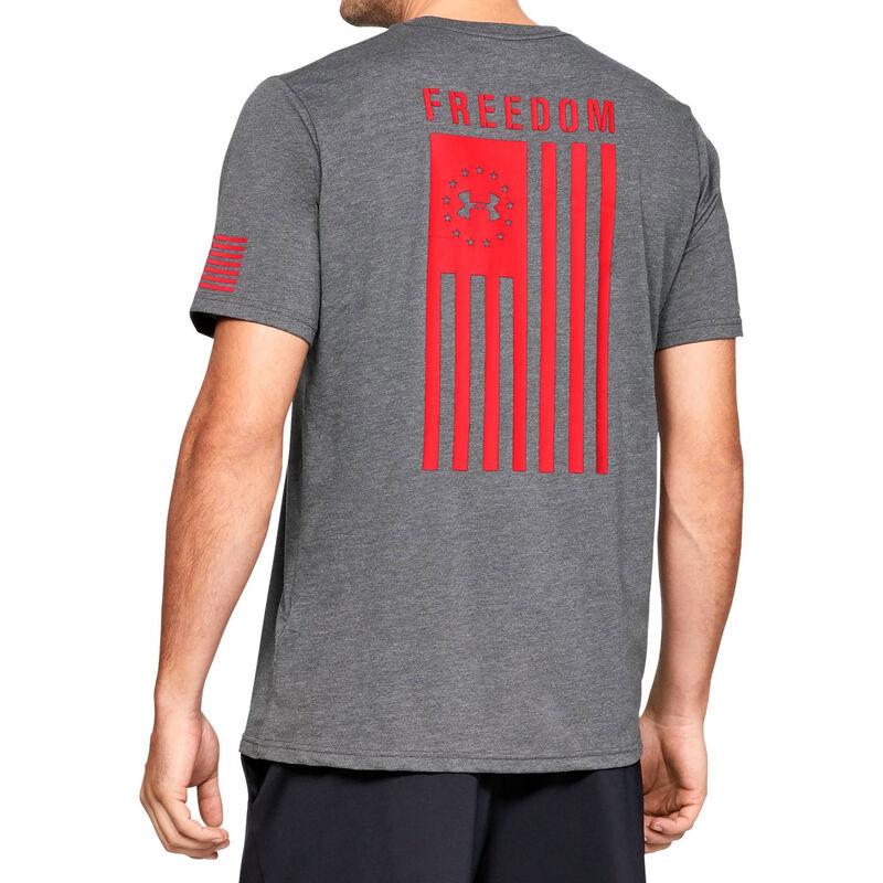 Under Armour Freedom Flag Men's Tactical Graphic Tee image number 1