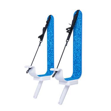 Manta Racks L2K White Paddleboard/Kayak Rack For 30° Rod Holders