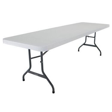 Commercial Folding Table, 8'