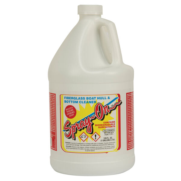 Toon-Brite Spray-On Fiberglass Cleaner, 1 Gallon