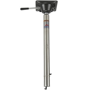 """Springfield Spring-Lock Power-Rise Adjustable Stand-Up Pedestal, 22.5"""" - 29.5"""""""