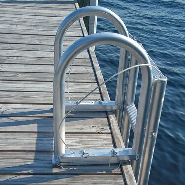 International Dock Standard-Step Dock Lift Ladder, 7-Step