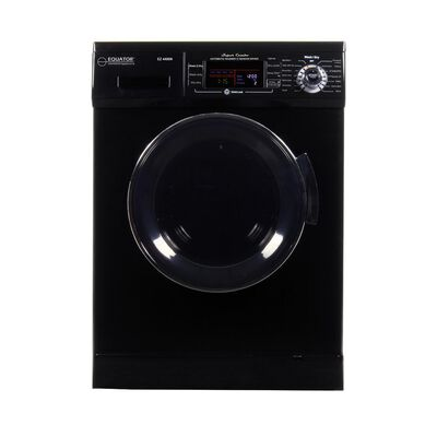 Equator Combo Washer/Dryer, Black (Vented/Ventless) with Winterize and Quiet Feature, EZ 4400N BLACK